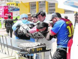 Un grupo de músicos bolivianos se accidenta en Perú