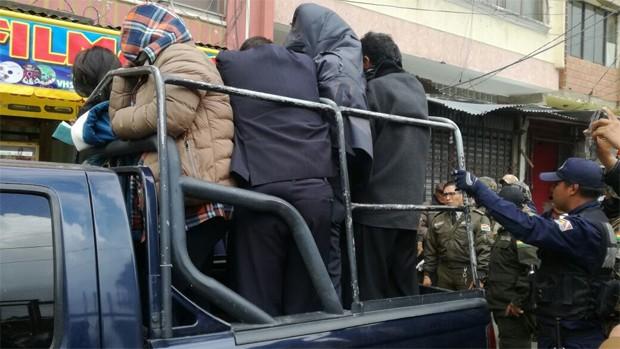 Tránsito arrestó a más de 20 personas durante el jueves de cuarentena en Tarija