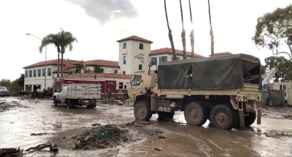 EEUU: Ascienden a 18 los muertos por el deslave en California