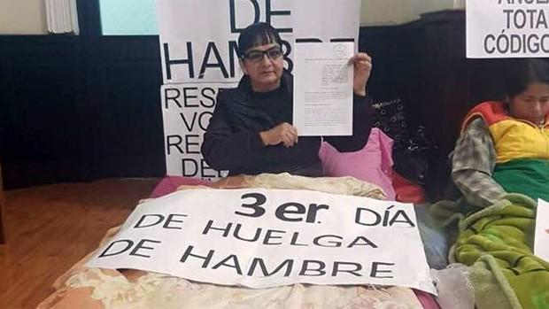 Senadora Gonzales denuncia a la presidenta de diputados Montaño por dos delitos