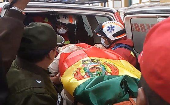 Senadora Gonzales fue dada de baja tras 11 días de huelga