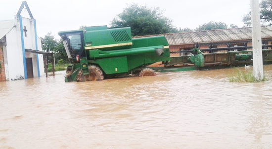 Villazón: Varias comunidades incomunicadas por granizadas y lluvias