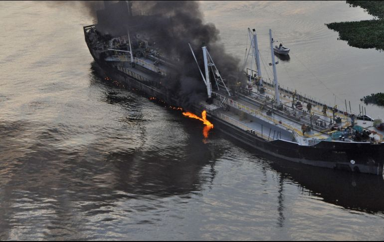 Choque de buques en China: hay 32 personas desaparecidas