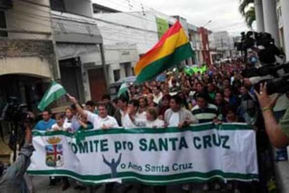 Viceministro califica de político paro cívico en Santa Cruz y afirma que es antidemocrático