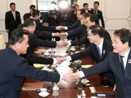 Dialogo por los Juegos Olímpicos de Invierno, entre Corea del Norte y del Sur