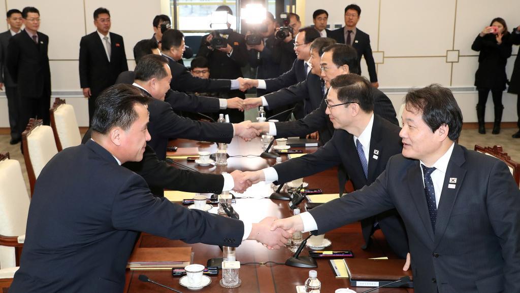 Donald Trump, sobre el diálogo entre las Coreas: