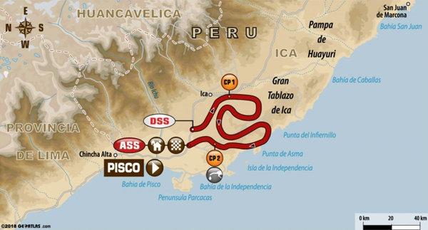 Etapa 2: atravesando Pisco por las dunas del Pacífico