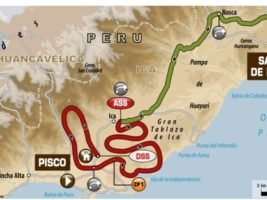 Perú paso de Pisco a San Juan de Marcona