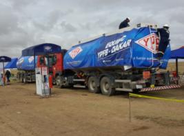 YPFB asigna 135.000 litros de gasolina y diésel para los competidores del Dakar