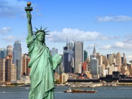 La Estatua de la Libertad en Nueva York