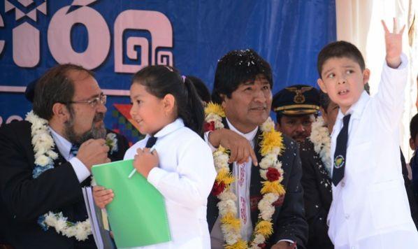 Evo inaugurará año escolar en la ciudad de Oruro el 5 de febrero