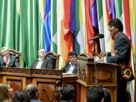 Presidente de Bolivia Evo Morales