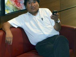 Presidente de Bolivia en redes sociales