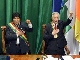 Presidente y Vicepresidente de Bolivia