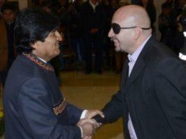 Presidente de Bolivia y el Defensor del Pueblo