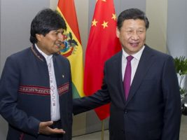 Presidente de Bolivia y China