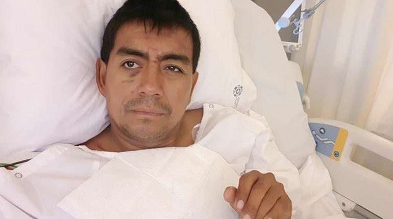 Gobierno envía avión a Perú para traer a Fabricio Fuentes que se accidentó en el Dakar