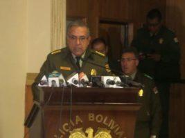 Comandante General de la Policía Boliviana