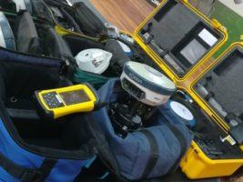 Policía recupera equipos topográficos robados al INRA