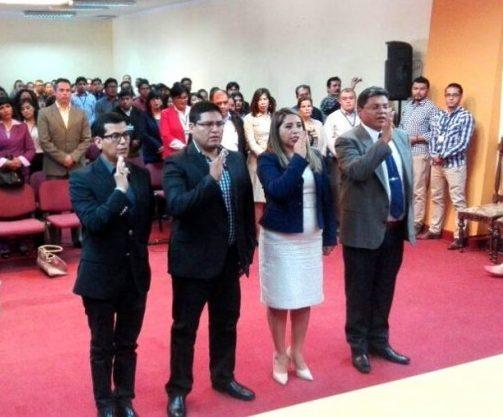 Gilbert Muñoz asciende a fiscal superior y Carlos Oblitas es nombrado fiscal de Tarija
