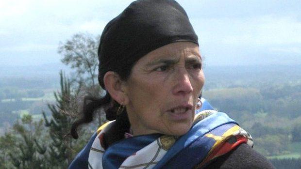 Mapuche chilena enjuiciada viajó a Bolivia a pedir ayuda