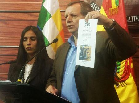 Legislativo denuncia 'guerra de mentiras' contra el Código Penal