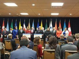El Grupo de Lima esta integrado por 12 países americanos