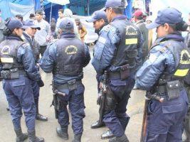 Guardia Municipal de la ciudad de La Paz