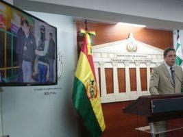 Ministro de Justicia de Bolivia