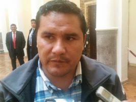 Dirigente de la Confederación Sindical Única de Trabajadores Campesinos de Bolivia (CSUTCB)