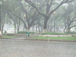 Días lluviosos en la ciudad de Tarija