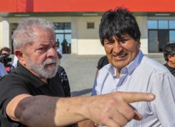 Evo dice que encarcelamiento de Lula es una de las injusticias más grandes del siglo XXI