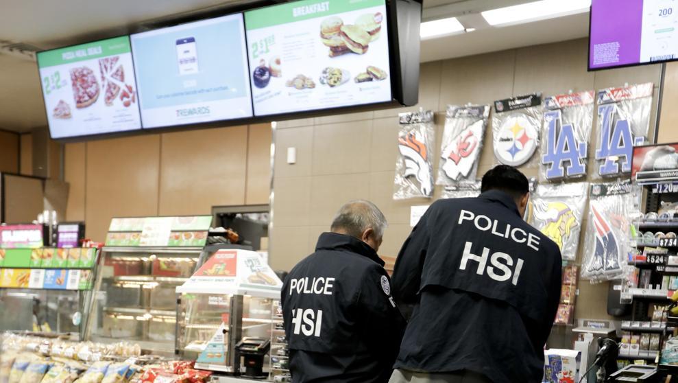 Estados Unidos: agentes de inmigración realizaron redadas en tiendas 7-Eleven de todo el país