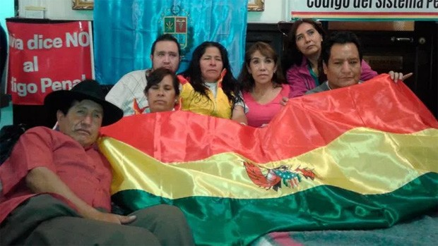 Parlamentarios opositores levantan huelga de hambre contra el Código