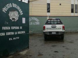 Fuerza Especial de Lucha Contra la Violencia (FELCV) de El Alto