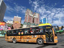 Los choferes de La Paz se oponen al funcionamiento de más buses Pumakatari. Foto: Archivo La Voz de Tarija