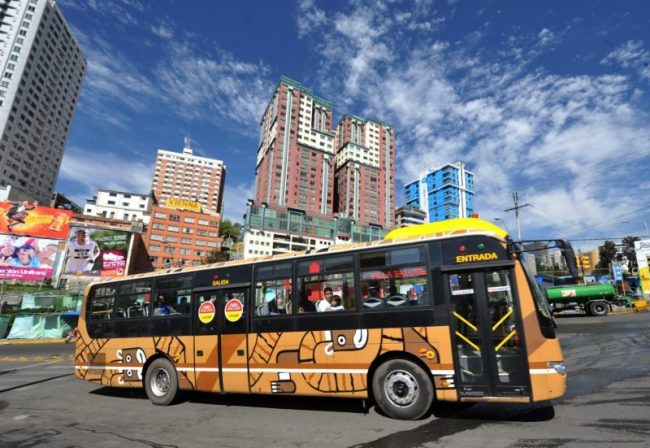 Choferes de La Paz ratifican paro el miércoles 7 de febrero contra la Alcaldía