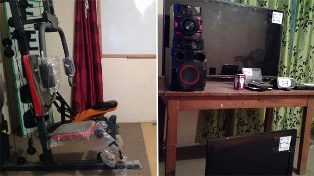 Capturan e imputan a una pareja acusada por robos a casas