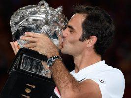 Federer se consagró campeón del Abierto de Australia, su 20° Grand Slam