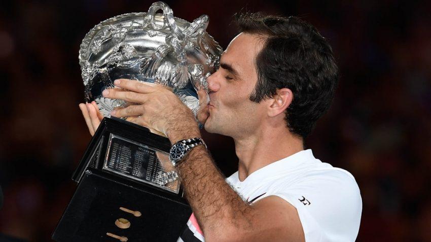 Federer venció a Cilic y se consagró campeón del Abierto de Australia