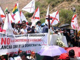 La denominada masacre de La Calancha sucedió en noviembre de 2007
