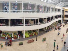 Panorámica del Mercado Central de Tarija