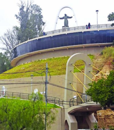 Mirador de la Loma de San Juan de la ciudad de Tarija