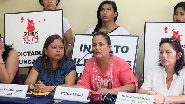 Víctimas de esterilizaciones forzadas pedirán a la CIDH que juzgue a Fujimori