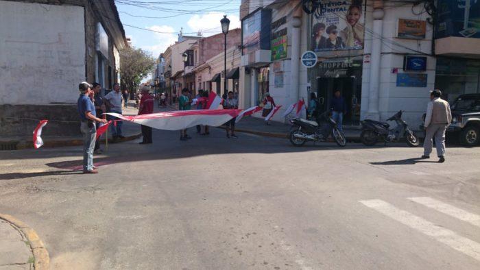 La Subgobernación de Cercado y sus trabajadores se suman al paro cívico contra el Código Penal