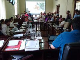 Sesion del Concejo Municipal de Tarija Cercado
