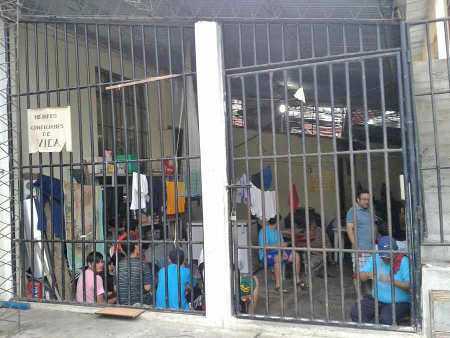 La Fiscalía plantea un plan de descongestión de presos de la carceleta de Bermejo