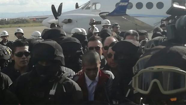 Eliot León arriba a La Paz y la fiscalía alista imputación para que sea enviado a Chonchocoro