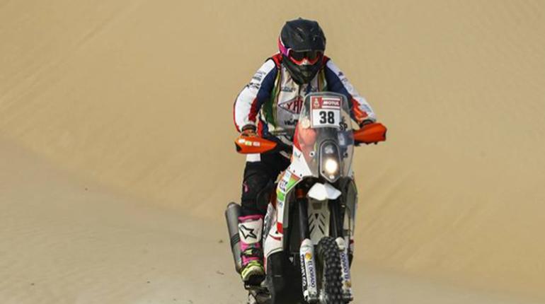 El Chaqueño Fabricio Fuentes abandona el Dakar tras un fuerte accidente