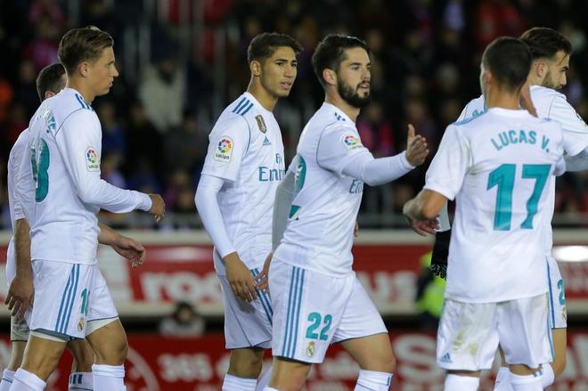 Real Madrid golea en octavos de la Copa del Rey, Barcelona empata en visita al Celta